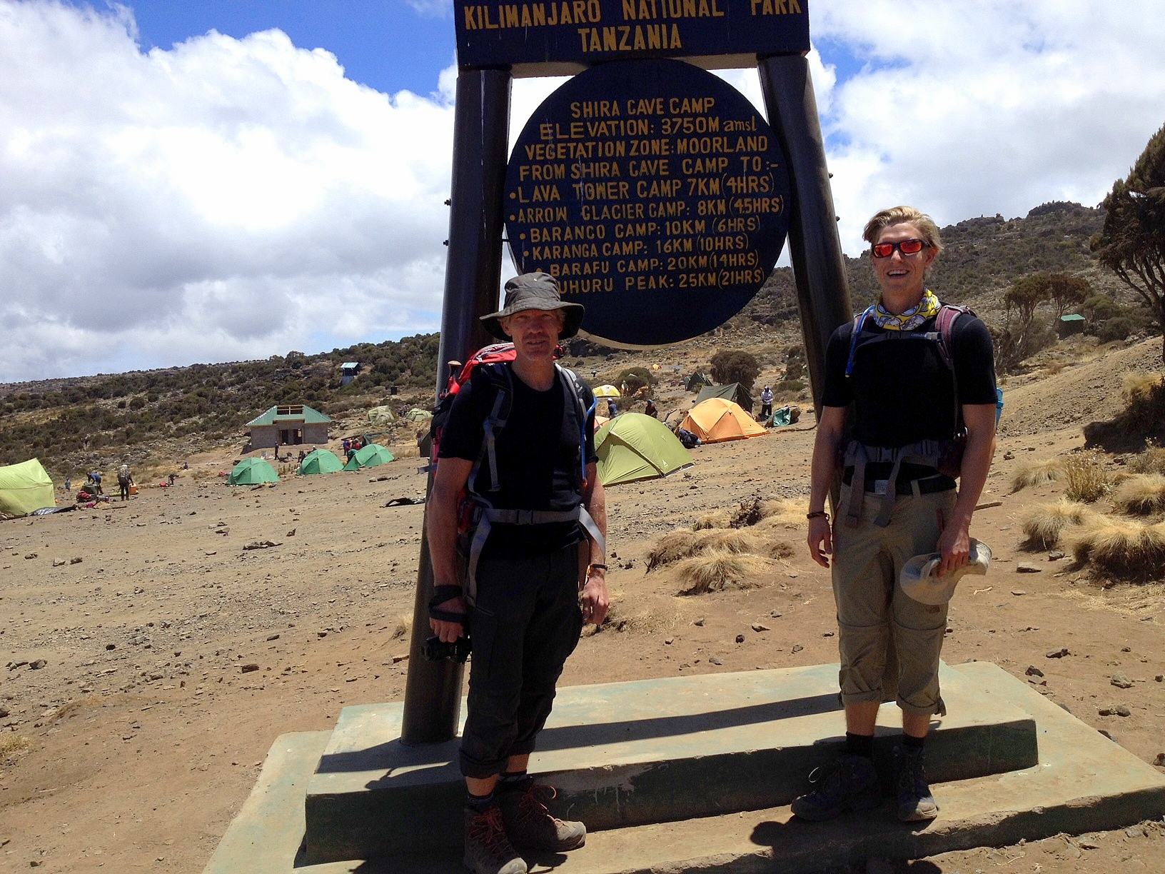 DILLING Underwear tested on Kilimanjaro
