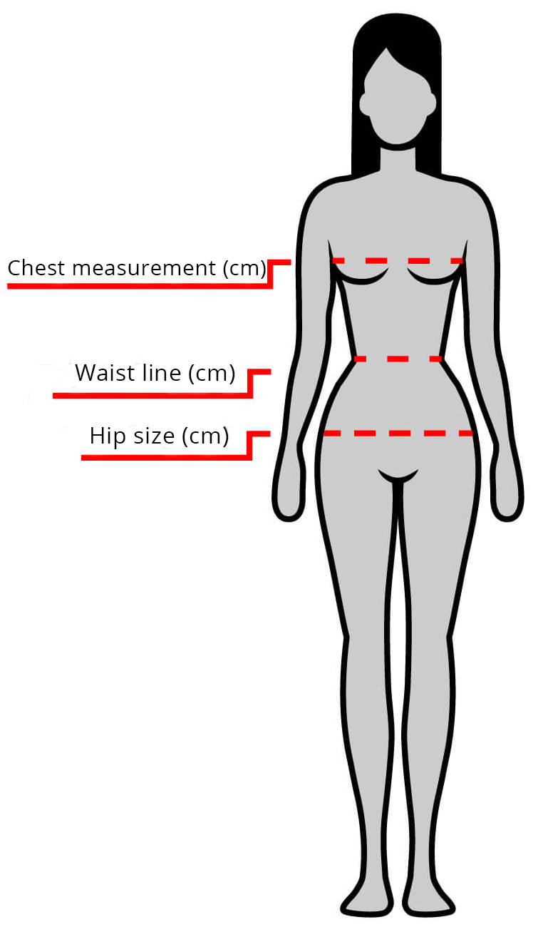 LADIES MEASUREMENT CHART
