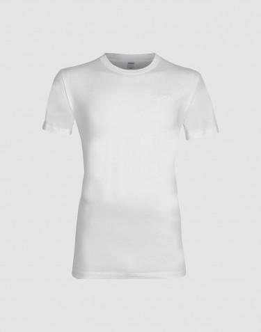 Men's cotton T-shirt- white