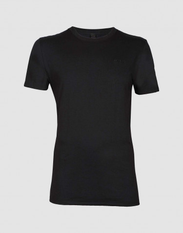 Men's cotton T-shirt- black
