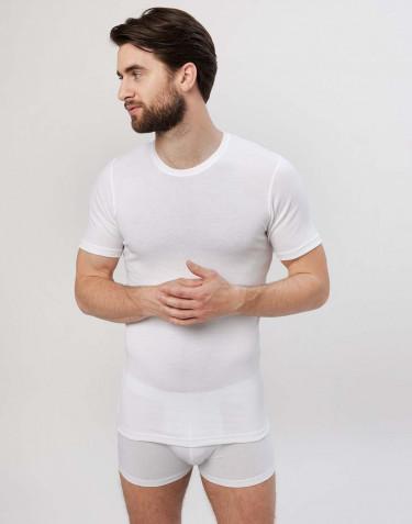 Men's premium classic cotton T-shirt- white