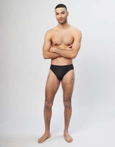 Men's sports briefs- Black