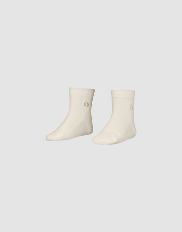 Children's organic cotton socks- Nature