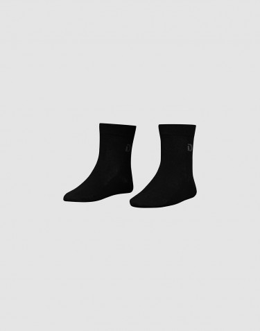Children's organic cotton socks- Black