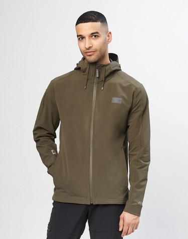Men's softshell jacket - Olive green