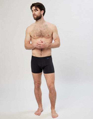 Men's microfibre boxer shorts- black