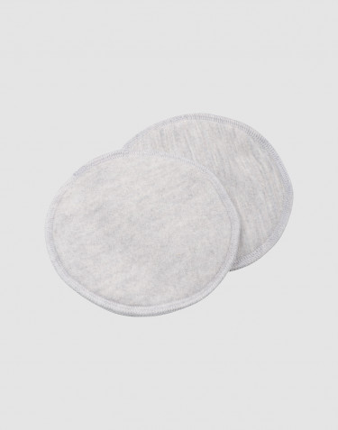 Merino wool breastfeeding insert- Light Grey