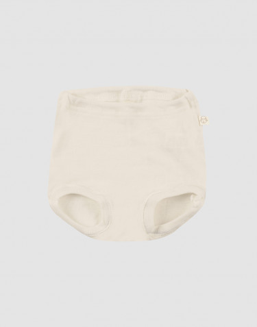 Baby merino wool briefs- nature