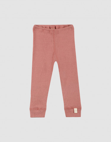 Baby merino wool leggings- Pink
