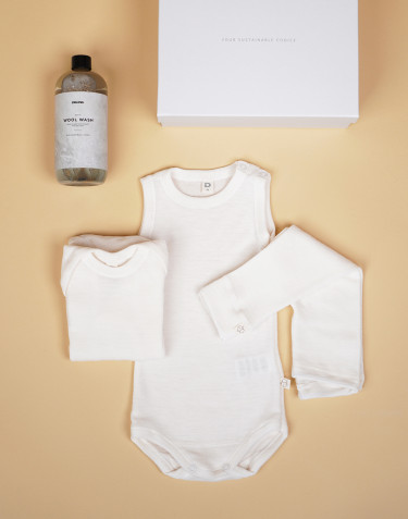 Baby Starter Pack- nature- size 4-6 Months