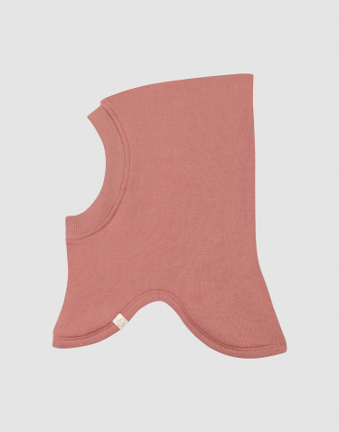 Wool terry balaclava- Dark Pink