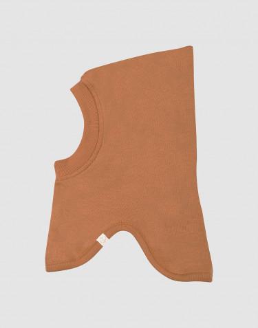 Wool terry balaclava- Caramel