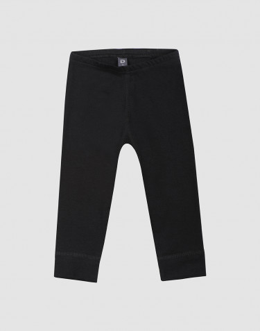 Baby organic cotton leggings- Black
