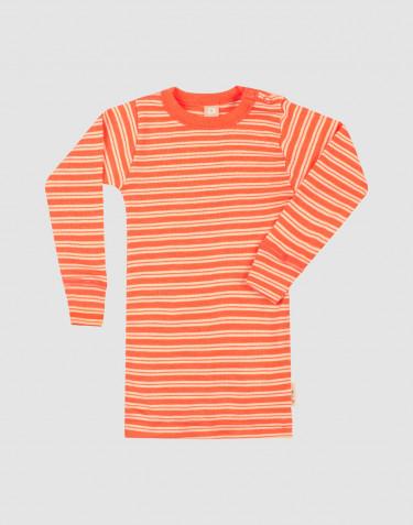 Baby merino wool/silk long sleeve top