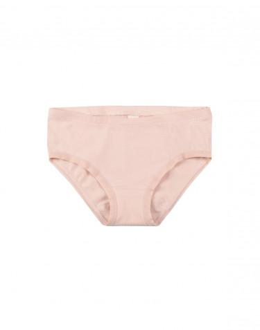 Girls' cotton briefs- rose