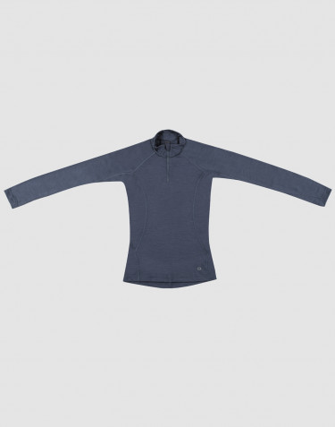Children's exclusive natural merino wool jumper- Blue Grey