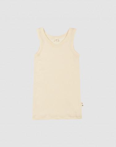 Children's merino wool/silk tank top