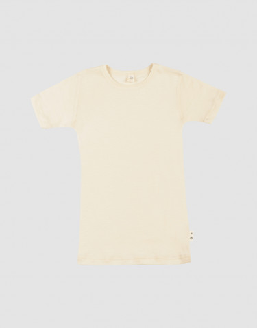 Children's merino wool/silk T-shirt