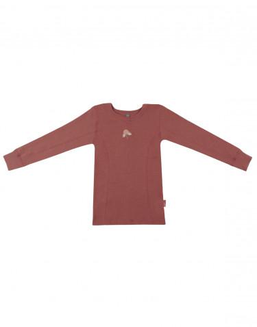 Children's long sleeve top- rouge