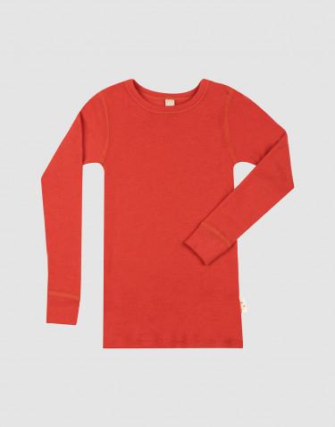 Children's merino wool long sleeve top