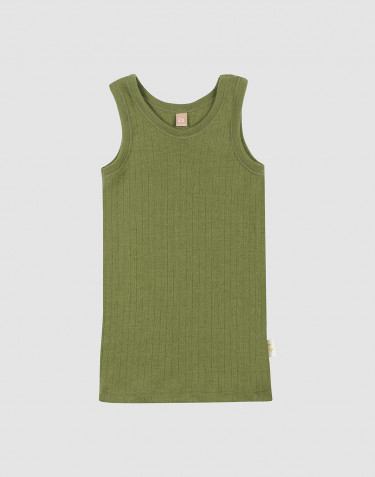 Children's merino wool tank top