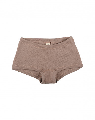 Girls' ribbed hipsters- dusty rose