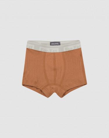 Boys woollen boxer shorts- Caramel