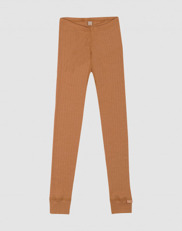 Children's wool leggings- Caramel