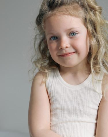 Children's merino wool tank top
