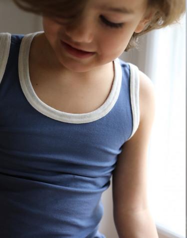 Children's cotton tank top