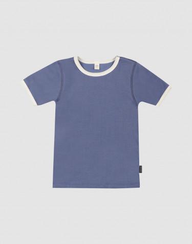 Children's cotton T-shirt- Faded Blue