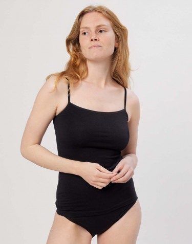 Women's cotton top- black