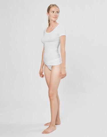 DILLING women's cotton bikini briefs- white