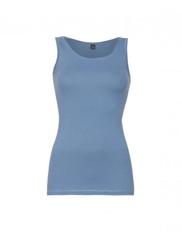 Women's cotton tank top- blue