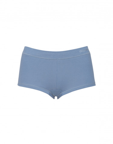 Women's cotton hipsters- blue