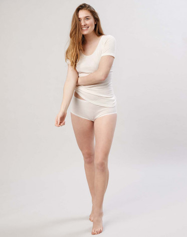 Women's merino wool briefs- nature