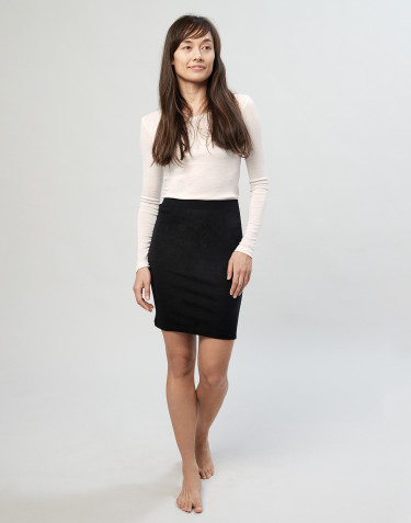 Women's tube skirt- Black