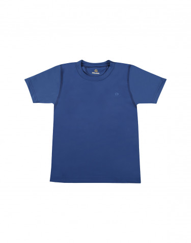 Kids' T-shirt with UV-protection UPF 50+ blue