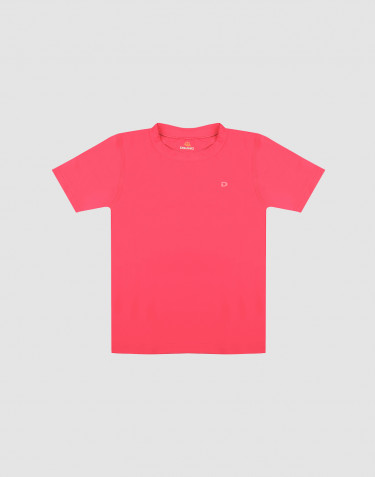 Kids' T-shirt with UV-protection UPF 50+ pink
