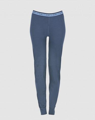 Women's exclusive merino wool leggings - dark blue