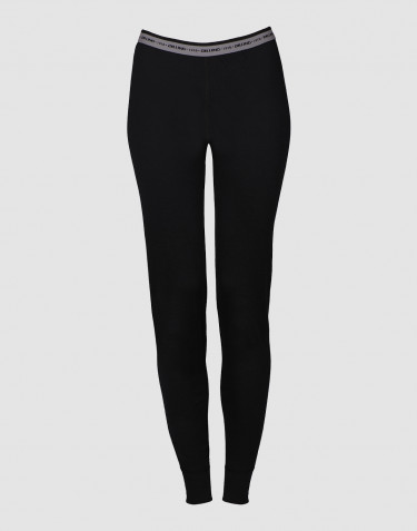 Women's exclusive merino wool leggings- black
