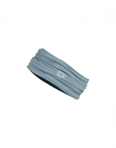 Men's exclusive merino wool neck warmer- mineral blue