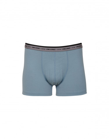 Men's exclusive merino wool boxer shorts- mineral blue