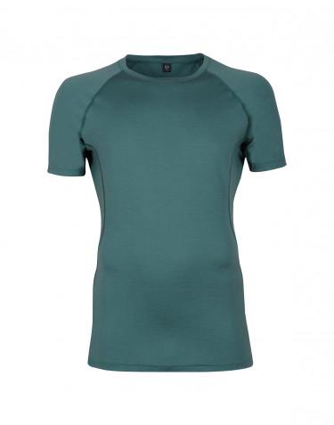 Men's exclusive merino wool T-shirt- hydro green