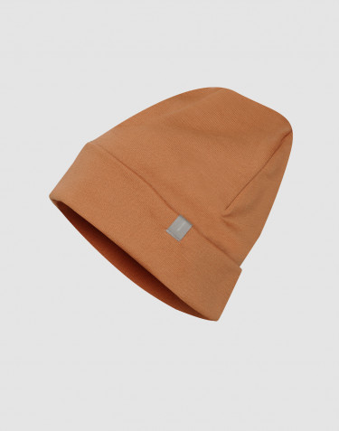 Wool terry hat- Caramel
