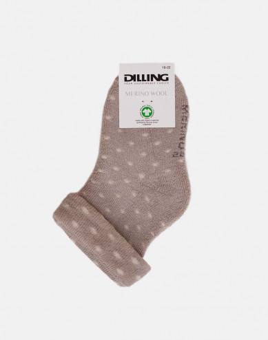 Baby merino wool socks