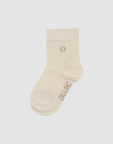 Children's organic cotton socks- Nature