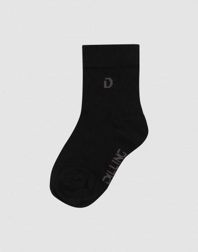Children's organic cotton socks- Black