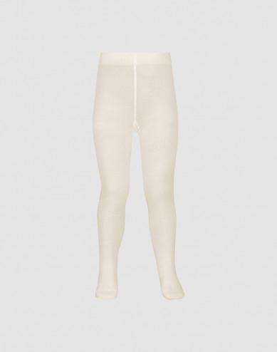 Children's organic cotton tights- Nature