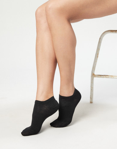 Women's wool sneaker socks